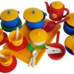Игрушечная посуда для детской готовки