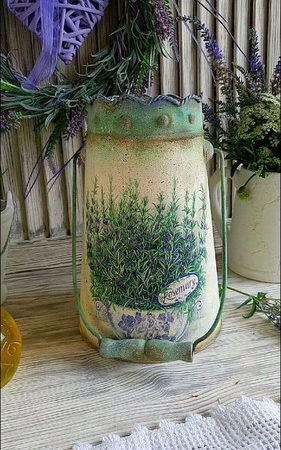 Декор в стиле прованс. Прованские вазы в интерьере.