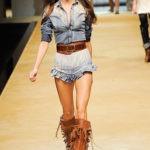 Современный ковбойский стиль в одежде
