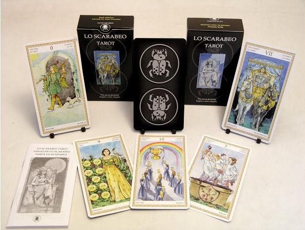 Чем отличаются колоды карт Таро lo scarabeo?
