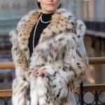 Мех рыси – популярный выбор среди женщин