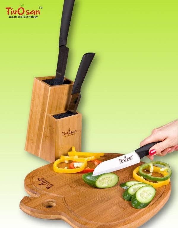 Керамические ножи - удобство и практичность на кухне