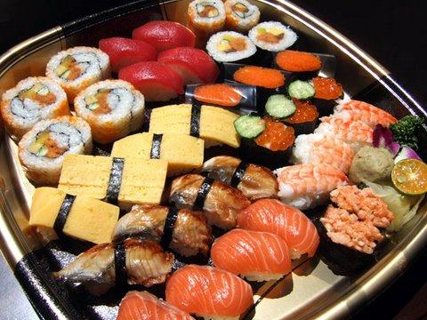 Как оформить доставку суши на дом?
