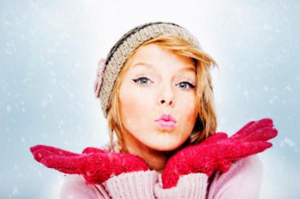 Уход за губами в зимнее время