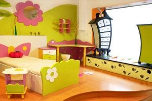 Выбор цвета детской мебели