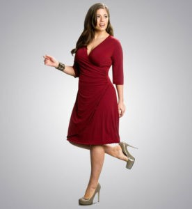Трикотажная одежда для модной «пышечки»