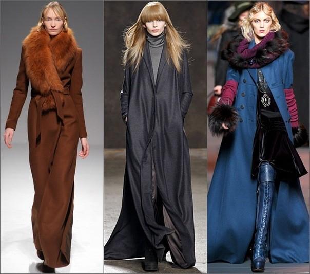 Модные тенденции 2012 года: пальто