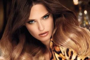 Модное окрашивание волос Омбре