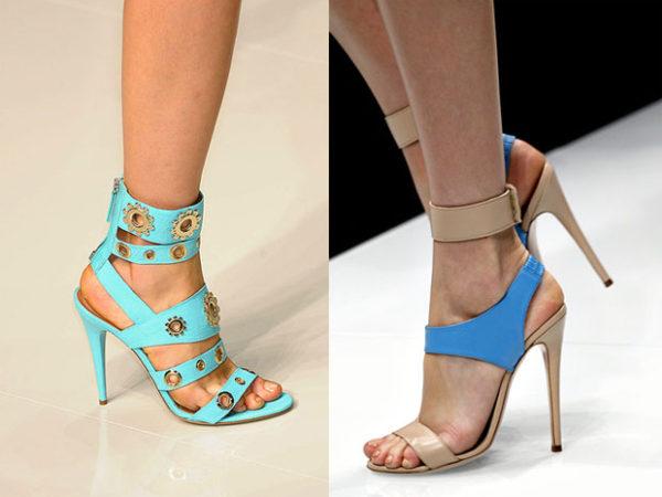 Силуэт и стиль обуви 2012 года