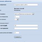 Подписка пользователей на новости раздела или категории