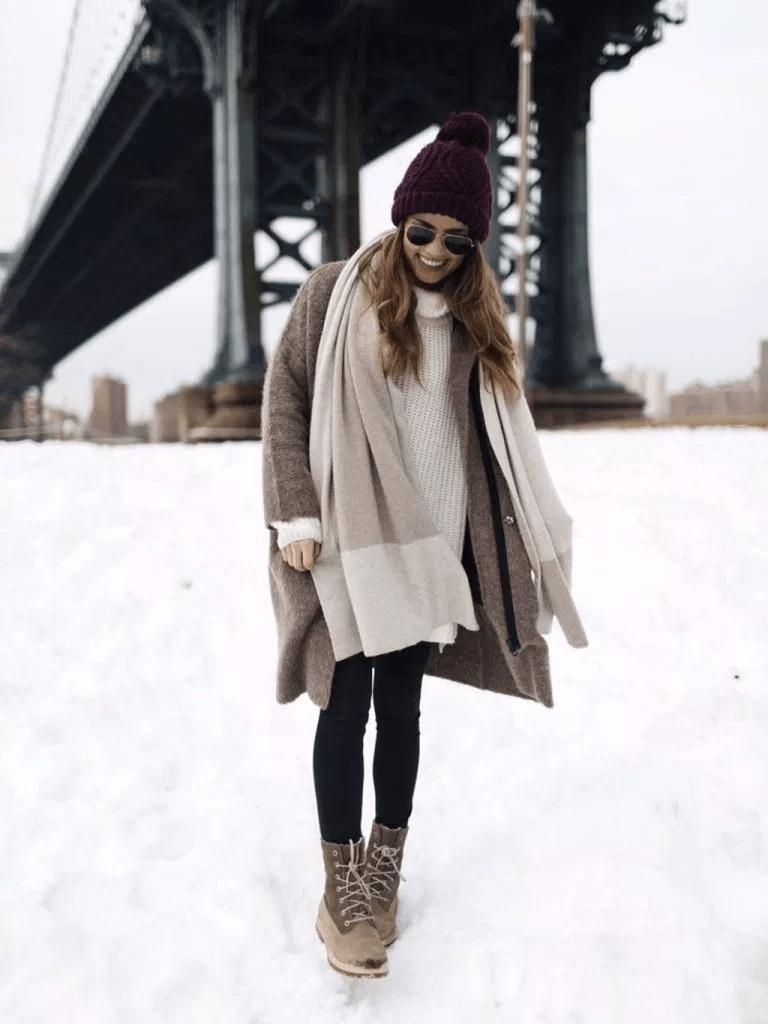 Модная зимняя одежда