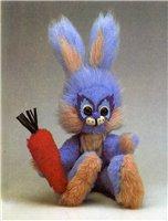 Мягкая игрушка своими руками: Зайчик
