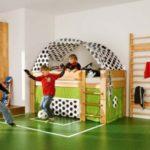Оборудуем детский спортивный уголок