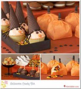 Накрываем стол для Хэллоуина