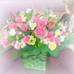 Розовые розы — не букет, а песня