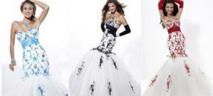 Свадебное платье с вышивкой: всегда в моде