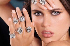 Кольцо с бриллиантом 0,5 карат – лучший подарок любимой