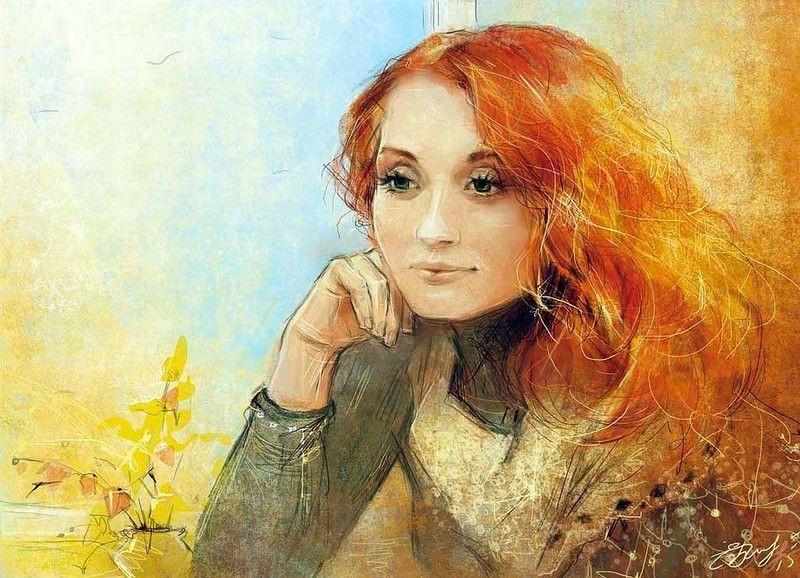 Потрясающие иллюстрации Екатерины Бабок