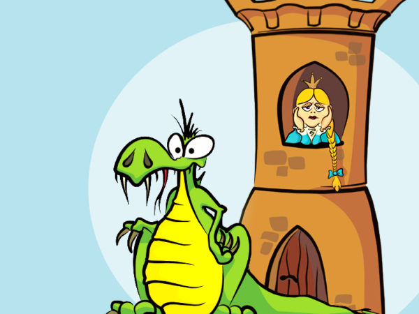 Анекдот дня «Как принцесса дракона обхитрила»
