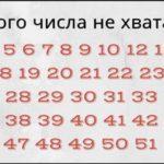 Как быстро ты сможешь определить, какого числа не хватает? Не многие могут справиться быстрее, чем за 10 секунд