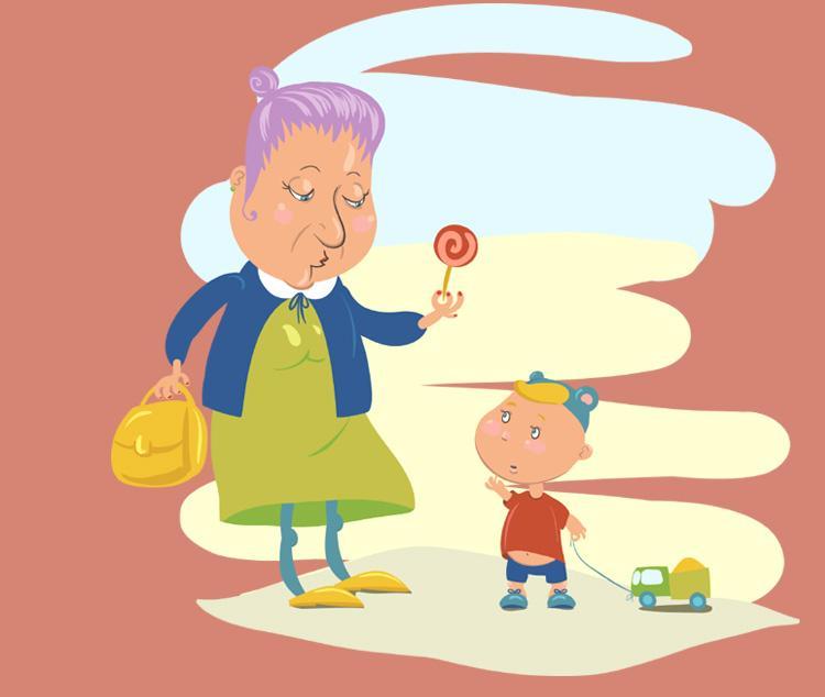 Смешные и неловкие ситуации, когда ребёнок остаётся у бабушки
