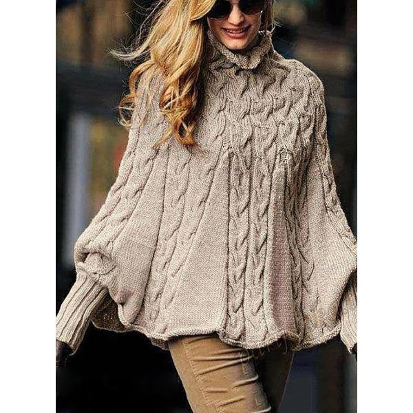 Вязаный свитер 336748