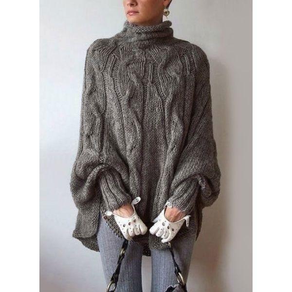 Вязаный свитер 405271