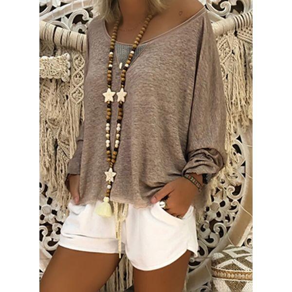 Вязаный свитер 437097