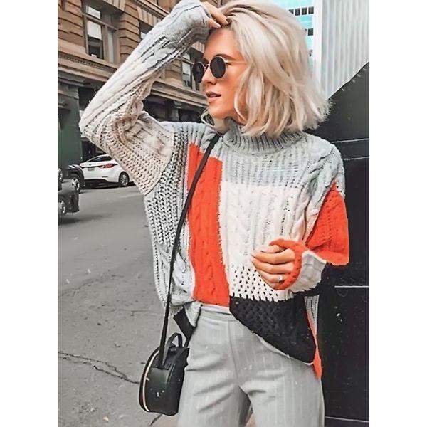 Вязаный свитер 546294