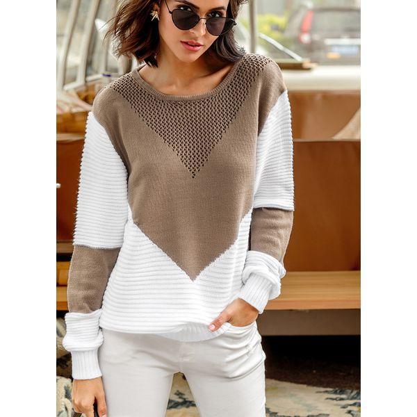Вязаный свитер 590979