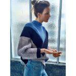 Вязаный свитер 678975