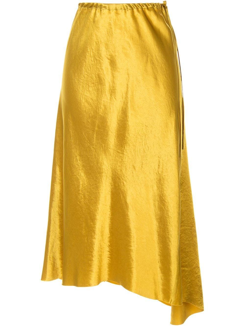 Ann Demeulemeester юбка асимметричного кроя с завышенной талией
