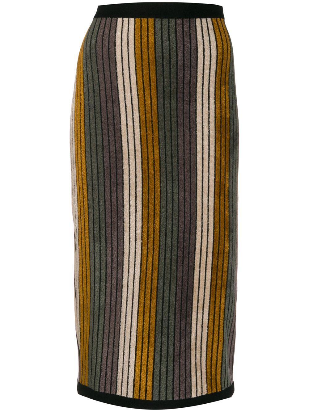 Antonio Marras юбка-карандаш в полоску