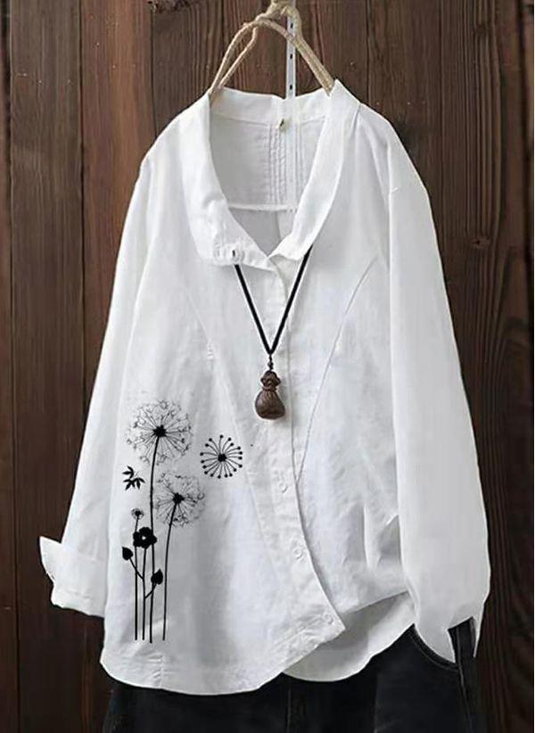 Белая блузка 1371434
