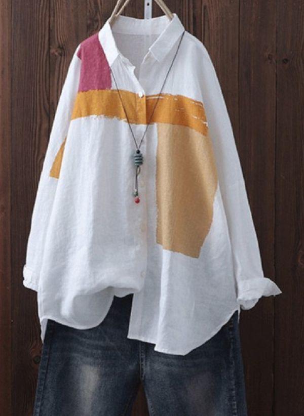 Белая блузка 1371439
