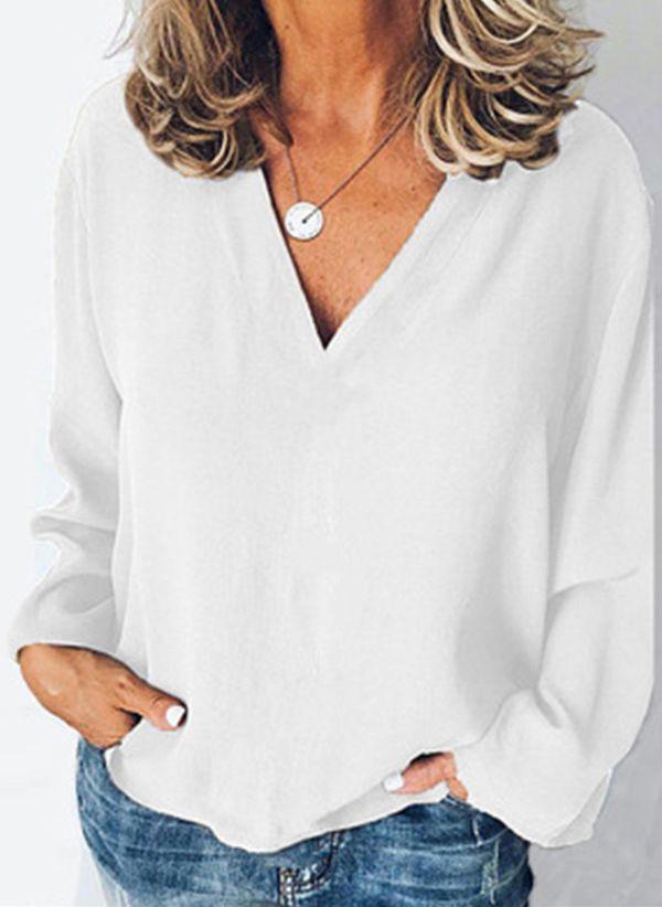 Белая блузка 1376705