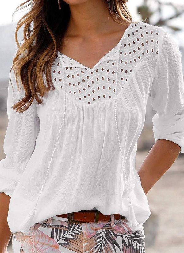Белая блузка 1388047