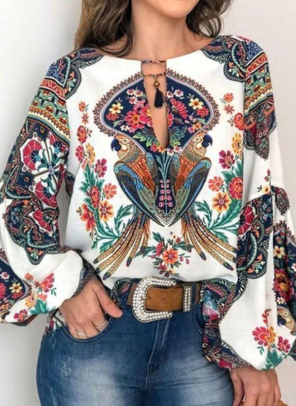 Белая блузка 1400629