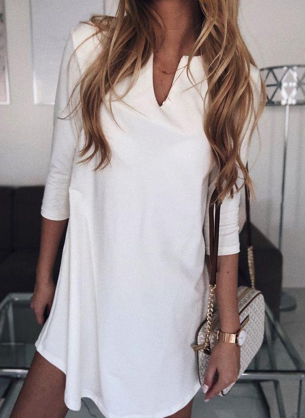 Белая блузка 1401137
