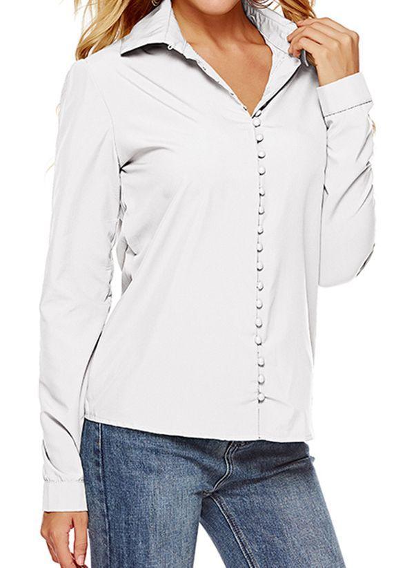 Белая блузка 1401244