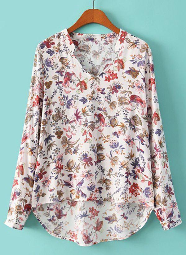 Белая блузка 1401704