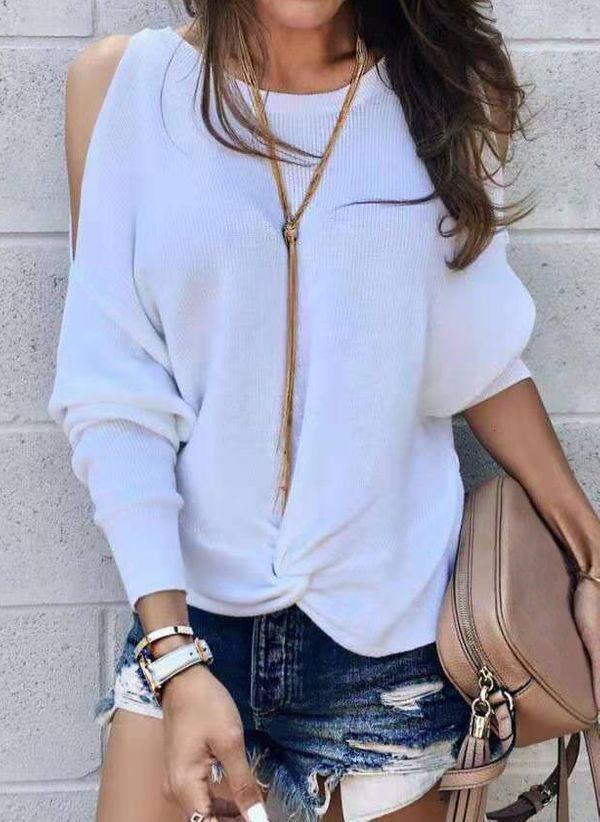 Белая блузка 1401766