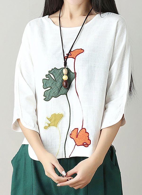 Белая блузка 1403999