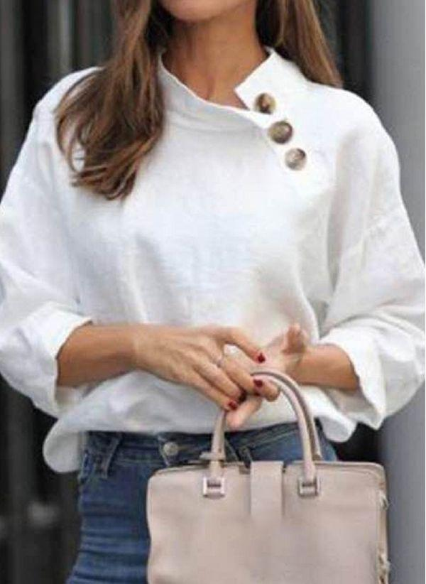 Белая блузка 1406414