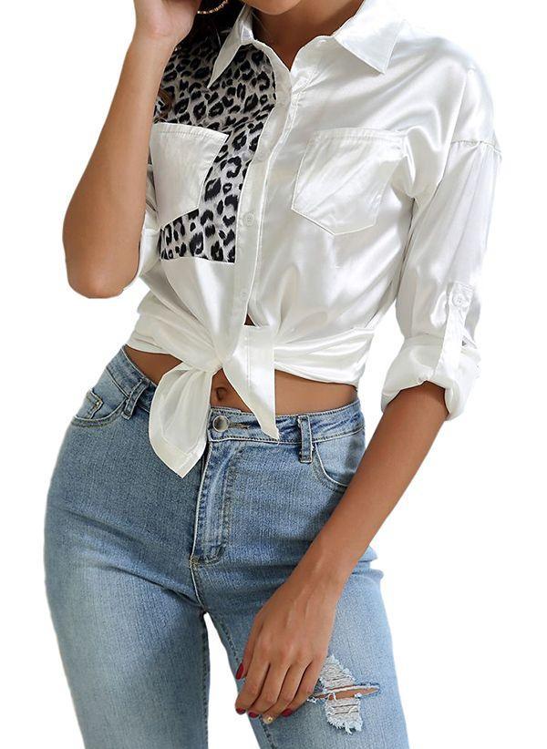 Белая блузка 1407133