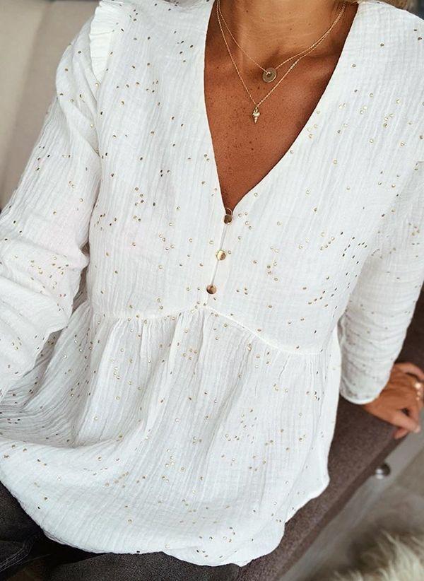 Белая блузка 1407320