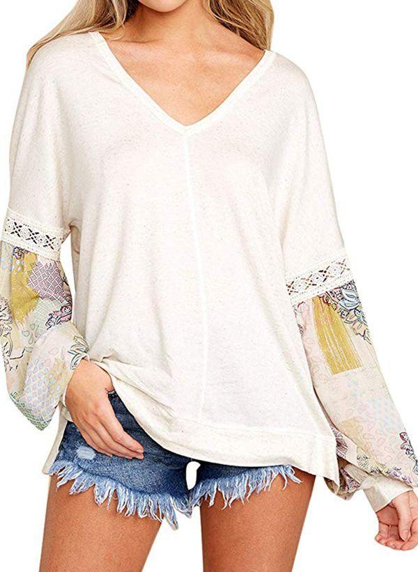 Белая блузка 1407349