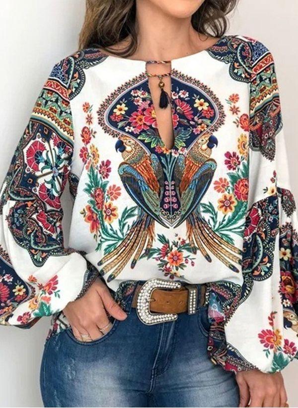 Белая блузка 1408681