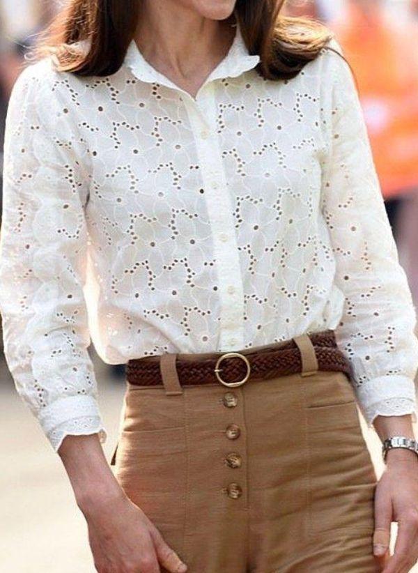 Белая блузка 1416729