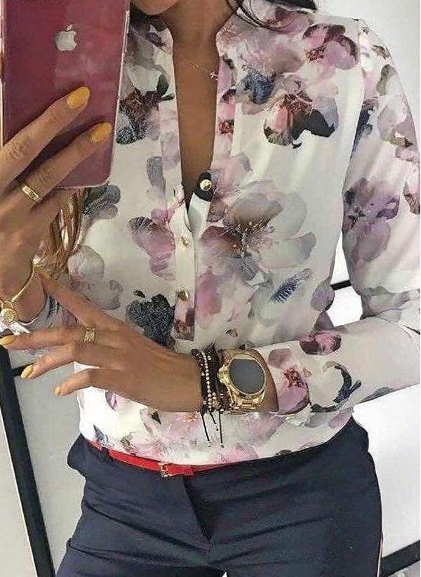 Белая блузка 1416733